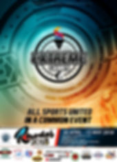 Interntional extreme games poster rhodes championhips 2018