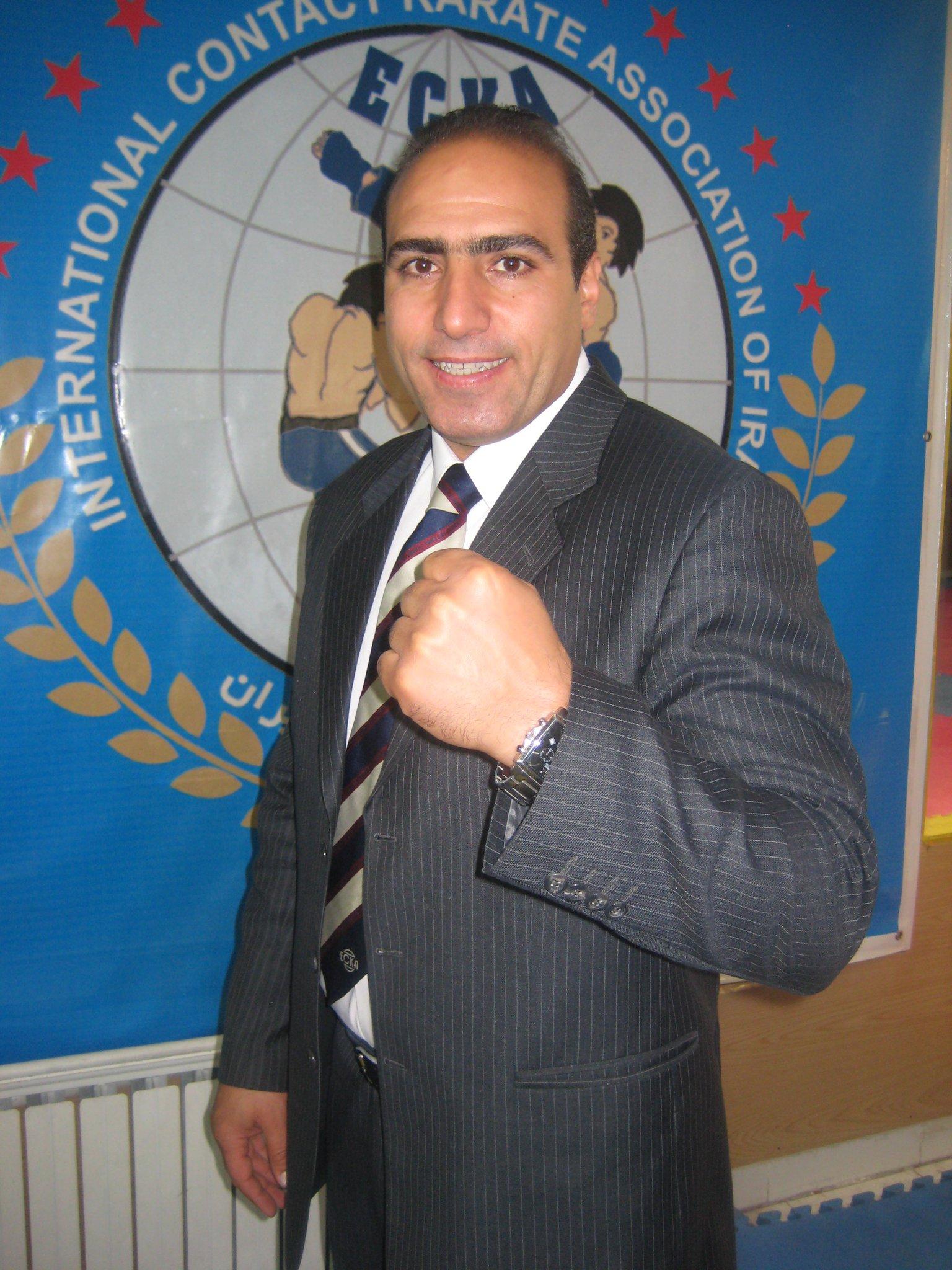 Asgar Azadian, member from Iran