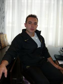 Antonis Giannakidis, owner of Kinesis Gym, Greece