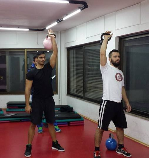 Cross Training School Kettlebell seminar 1, Greece