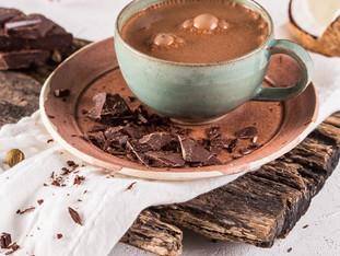 Receita de chocolate quente diferente