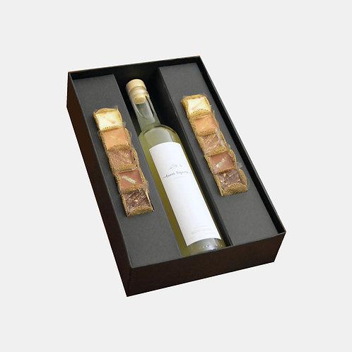 Caixa com limoncello (500ml)