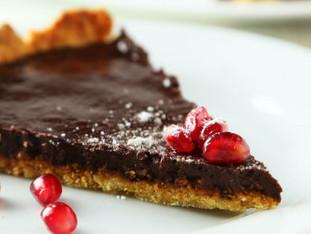 Torta de chocolate vegana