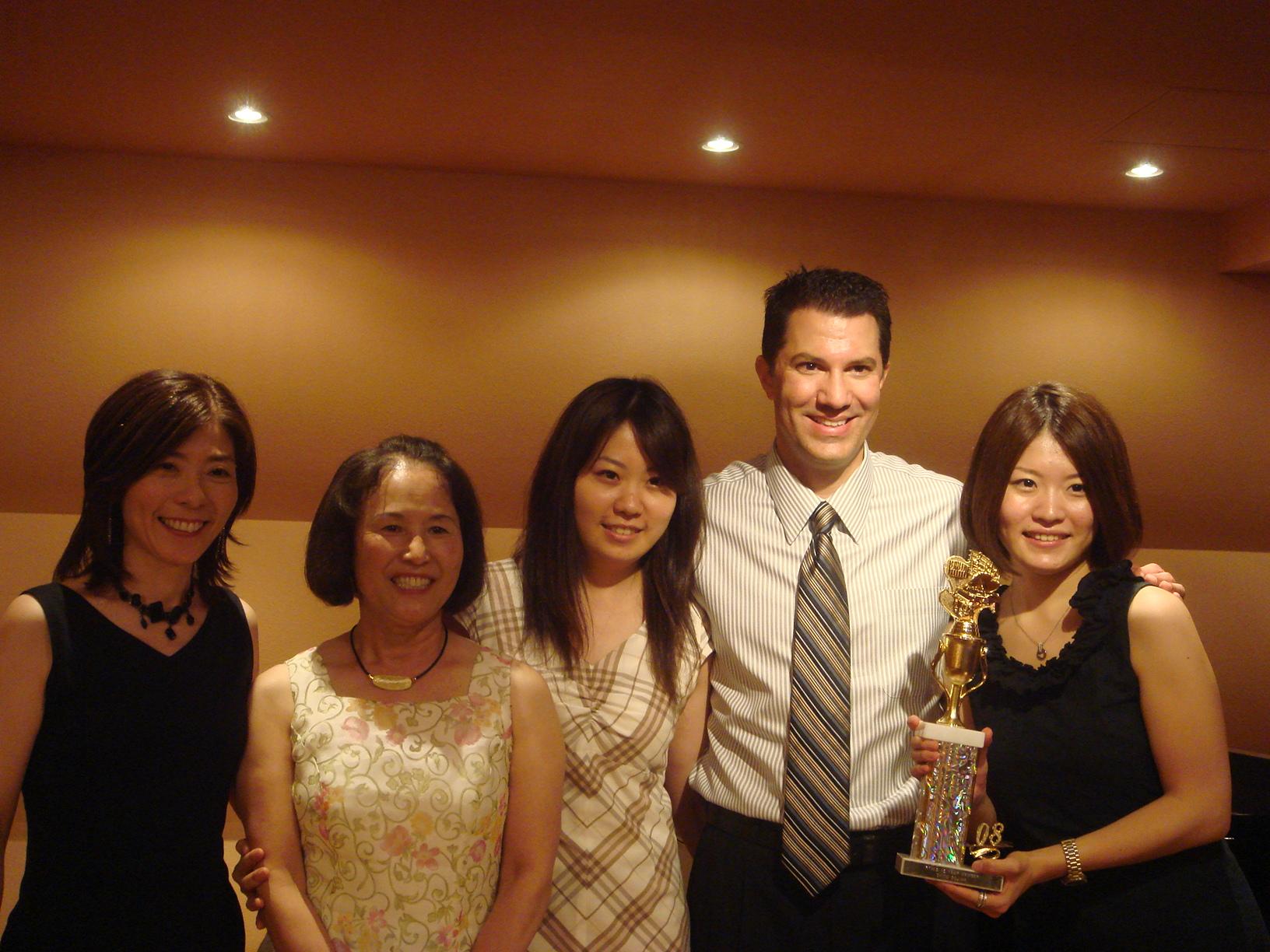 with Akiko Hasunuma & friends