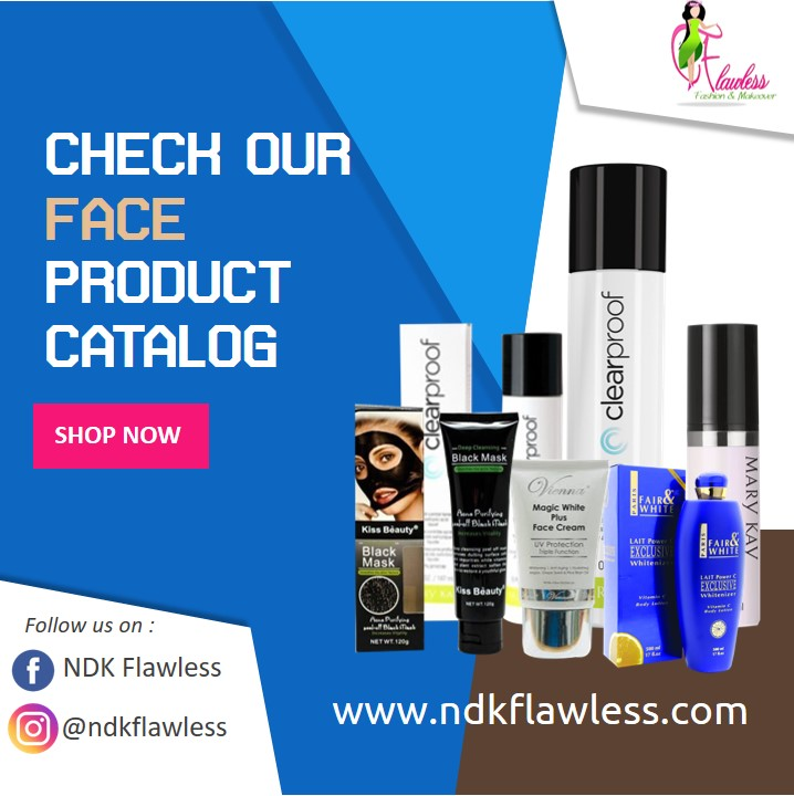 Face Product Catalog
