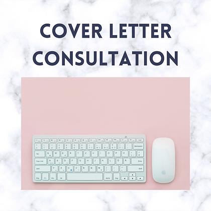 Cover Letter Consultation