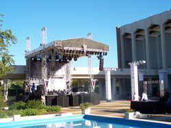 BET Awards Custom Stage and Roof System