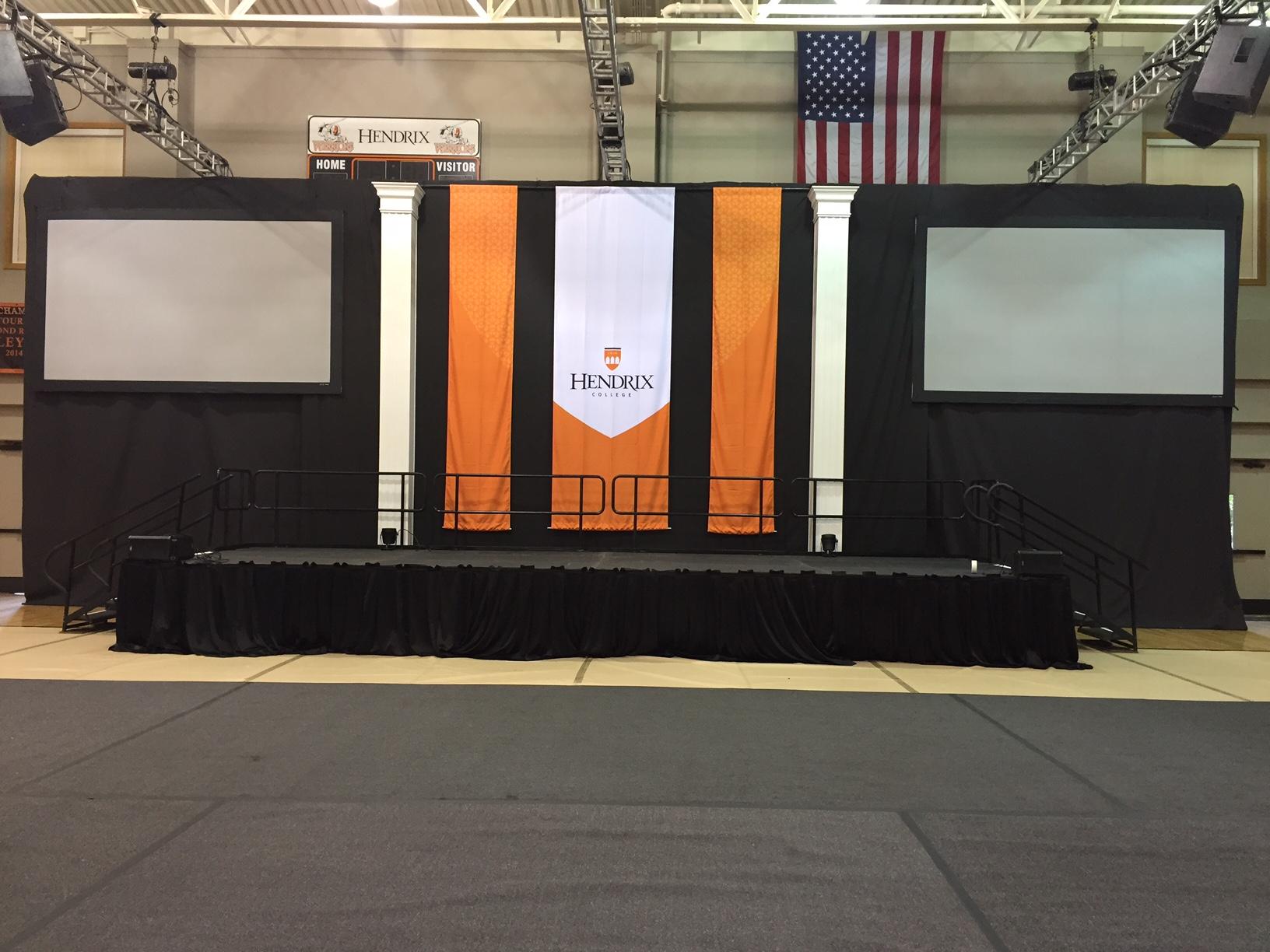 SD Stage Decks indoor Graduation2