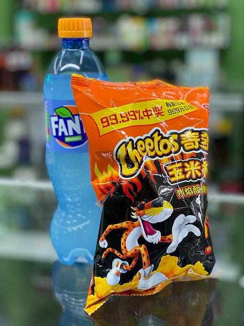 Fanta Shakota and Exotic Cheetos