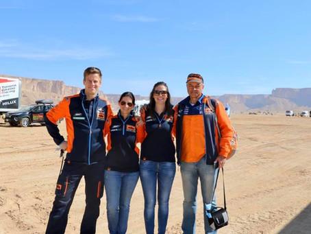 Medizinische Betreuung Rallye Dakar 2020