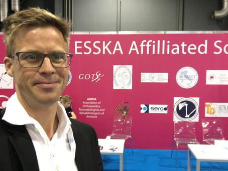 9.-11. Mai 2018  ESSKA-european society in Glasgow
