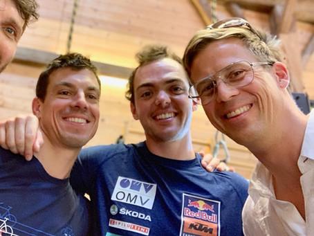 Besuch bei Ralley Dakar Champion Matthias WALKNER