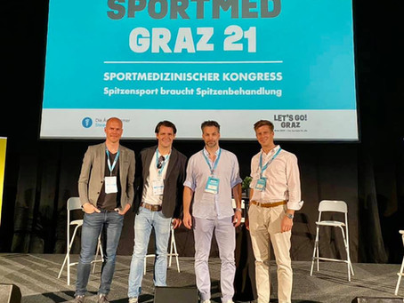 Organisator des 1. sportmedizinischen Kongresses in Graz