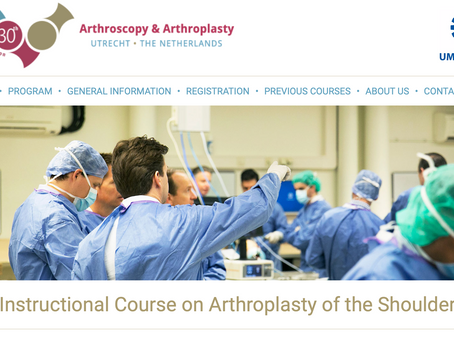 Teaching beim internationalen Schulterarthroskopie Kurs in Utrecht (NED)