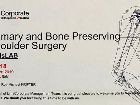 Teaching bei internationalen Schulterprothesen-Kurs
