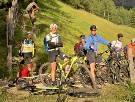 20. Alpenüberquerung am Mountainbike