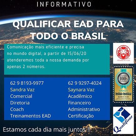 Informativo de telefones - QUALIFICAR RH