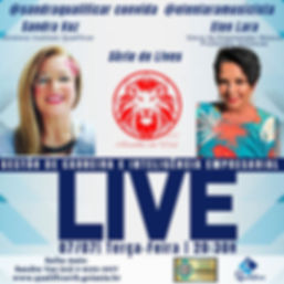 LIVE 07_07 - Sandra Vaz e elen Lara - QU