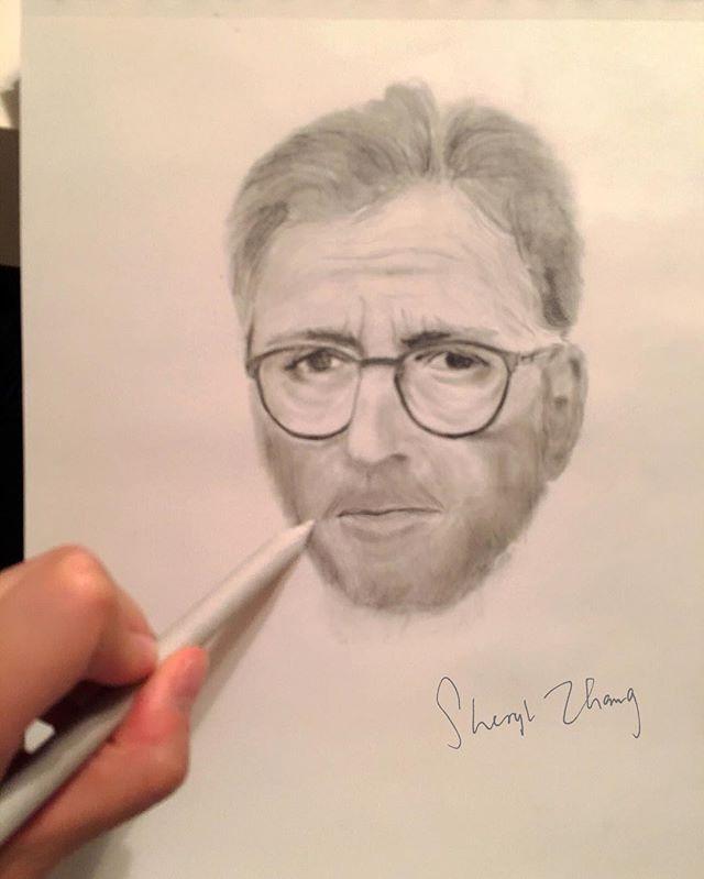 #IStillDo #EricClapton #pencildrawing 👀 🎸✏️