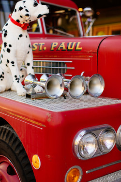 Ashes Fire Truck