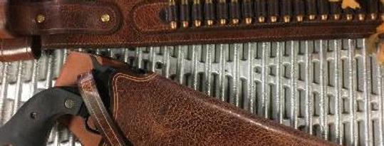 Wider Western style Ammo Belt