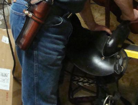 R-2012BB Lined HOLSTER and Matching BELT