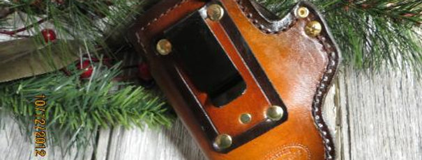 SS-6 Clip on or Belt loop holster