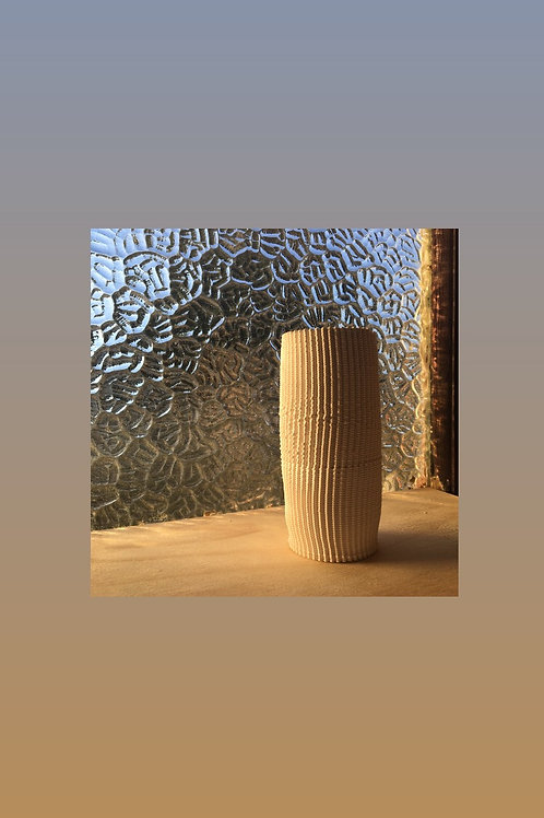 Tall knitted Vase