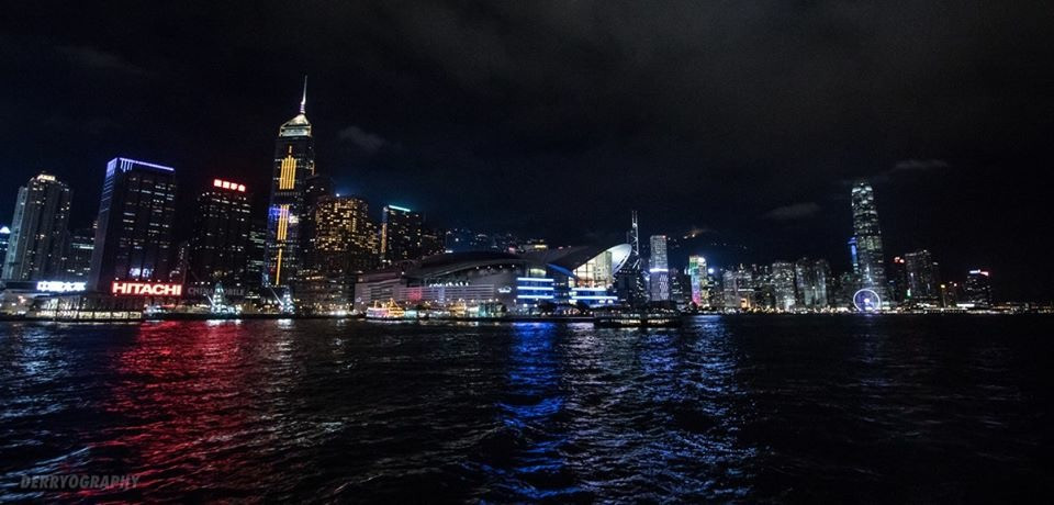 Hong Kong Night Ocean View