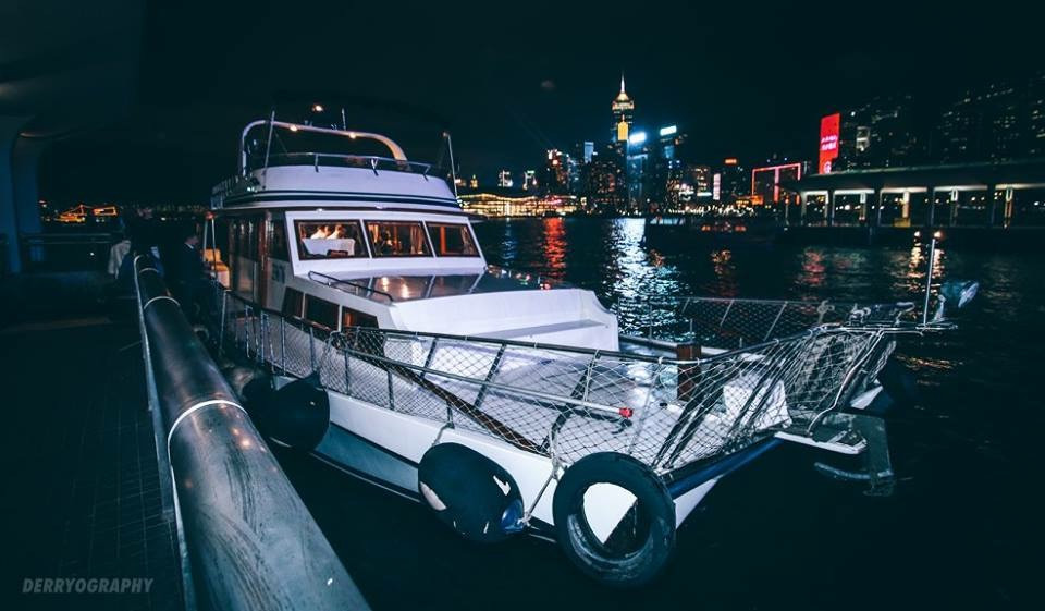 Junk Boat at Central Pier 9
