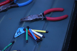 Bands and banding pliers
