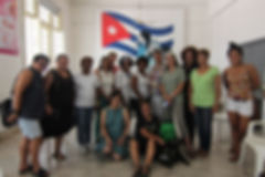 Delegates Visit the Women and Family Orientation House in Havana, Hosted by Staff and FMC Members