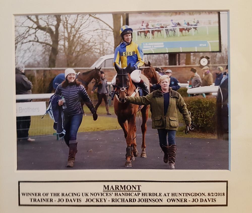 Marmont winning Huntingdon