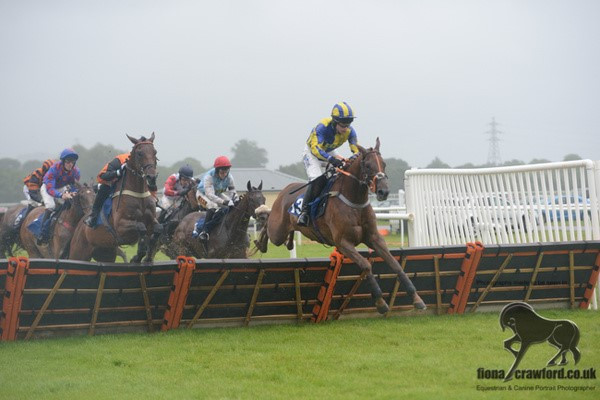 Marmont flying at Newton Abbot, so near yet so far!