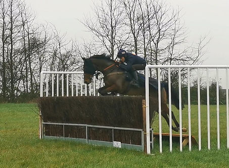 Catlow jumping with James.jpg
