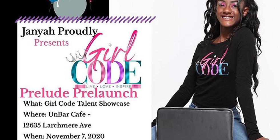 GIRL CODE TALENT SHOWCASE