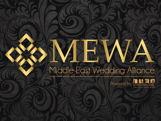 MEWA (The Middle East Wedding Alliance) - Powered by ILEA Launch Event