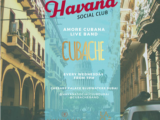 Amore Cubana At Caesars Palace With Cubache Band!
