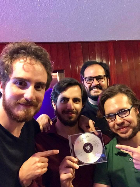 The band is done with the new album!