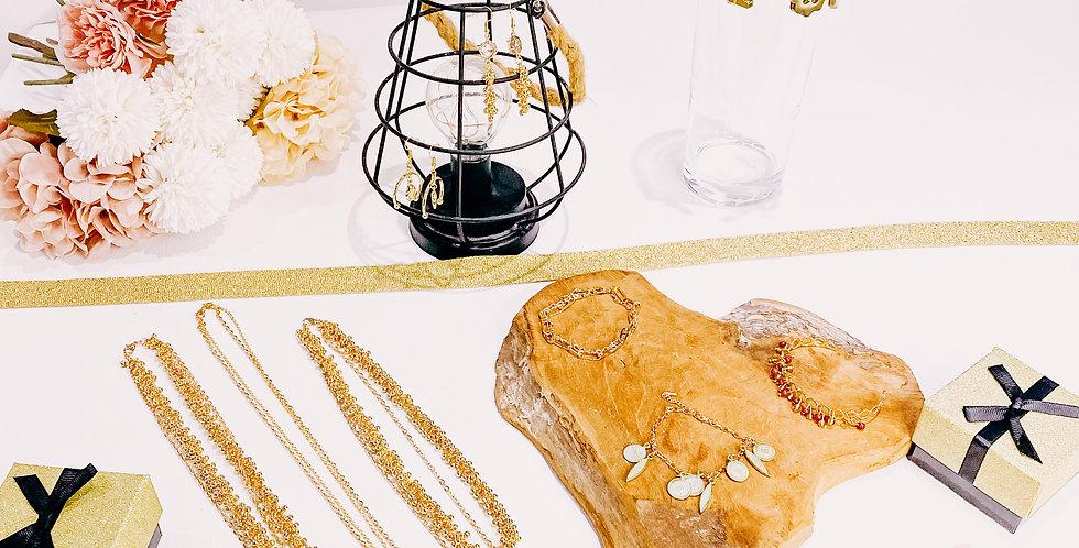 BOX BIJOUX, doré ou argenté, avec ou sans engagement...