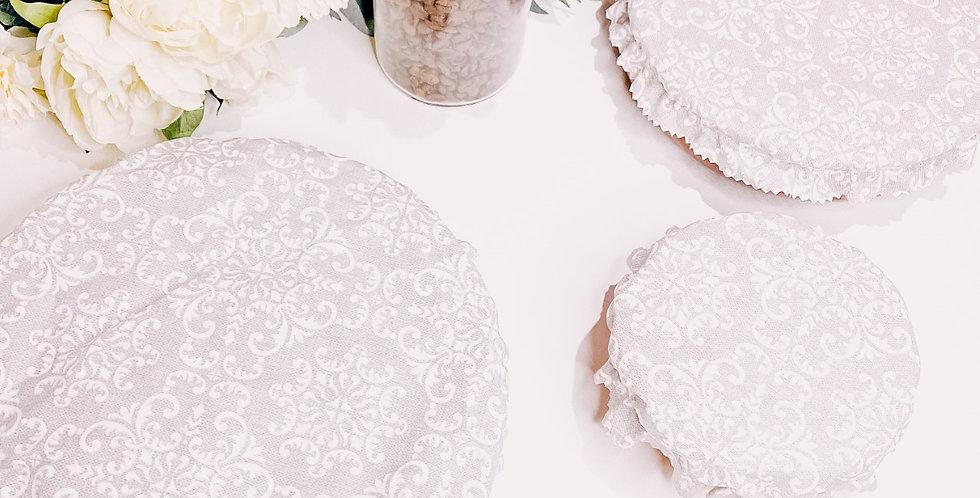 Couvre-plats, lavables et réutilisables...