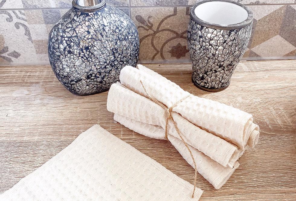 Lingette, lavables et réutilisables, éponge...