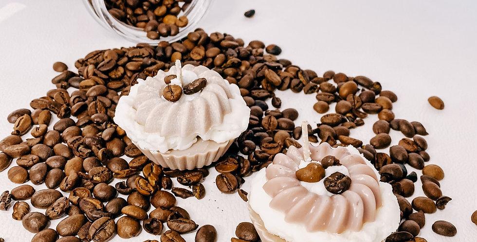 Bougies CUPCAKE, café ...