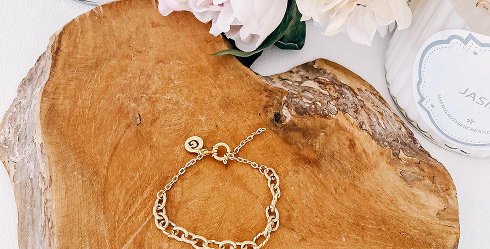 Bracelet CHARLOTTE, argenté ou doré...