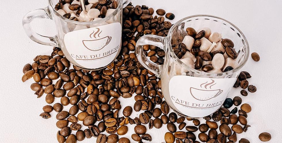 TASSE CAFÉ , bougeoir en verre...