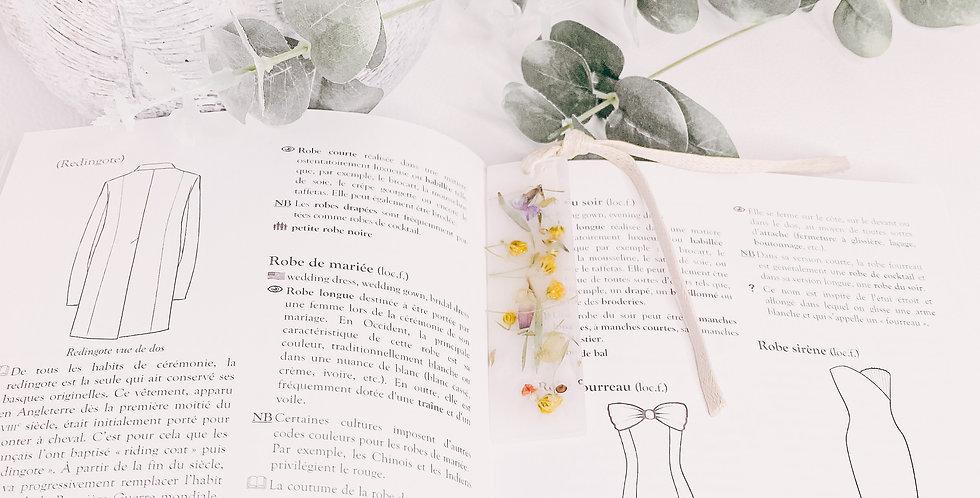 Marque-page PRINTEMPS, ruban, small...