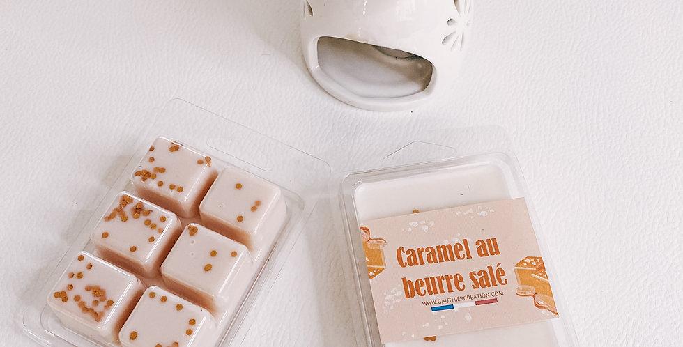 Tablette fondant parfumés CARAMEL AU BEURRE SALE...