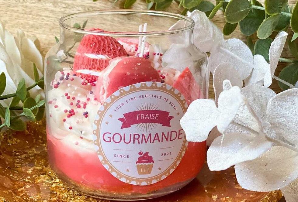 GIANT GOURMANDE, bougeoir en verre...