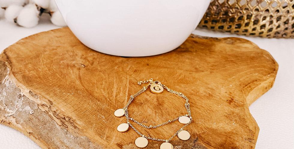 Bracelet LUCIE, argenté ou doré...