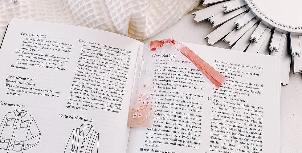 Marque-page GLORIA, pompon, small...